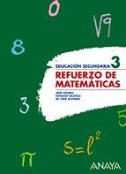 refuerzo de matematicas 3. (eso) 9788466773997