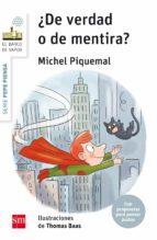 El libro de Pepe piensa: ¿de verdad o de mentira? autor MICHEL PIQUEMAL DOC!
