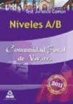 niveles a/b comunidad foral de navarra: test juridico comun-9788467655797