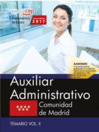 PACK DE LIBROS AUXILIAR ADMINISTRATIVO: COMUNIDAD DE MADRID