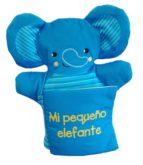 mi pequeño elefante (libro marioneta) 9788468334097