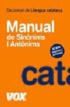 diccionari manual de llengua catalana: sinonims i antonims-9788483329597
