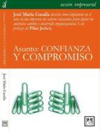 asunto: confianza y compromiso-richard walker-9788483561997