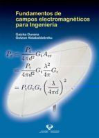 fundamentos de campos electromagneticos para ingenieria-9788490827697