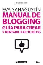 manual de blogging (ebook) eva sanagustin 9788491168997