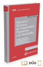 ejercicios practicos de contabilidad financiera y de sociedades (2ª ed.)-domingo nevado peña-9788491357797