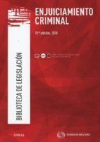 civitas: enjuiciamiento criminal (39ª ed.) 9788491977797