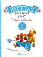 comer cada día 1 - 5 años-edurne romo-elena ruiz-9788493382797