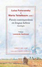 poesia contemporanea en lengua hebrea-luisa futoransky-9788493908997