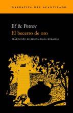el becerro de oro ilf petrov 9788495359797