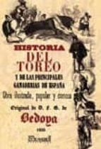 historia del toreo y de las principales ganaderias españolas-fernando gomez de bedoya-9788498623697