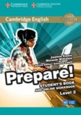 CAMBRIDGE ENGLISH PREPARE! 2 STUDENT S BOOK AND ONLINE WORKBOOK - 9781107497207 - VV.AA.