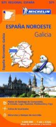 MAPA REGIONAL GALICIA - 9782067184107 - VV.AA.