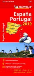 ESPAÑA, PORTUGAL 2019 (MAPA NATIONAL MICHELIN) - 9782067236707 - VV.AA.