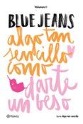 ALGO TAN SENCILLO COMO DARTE UN BESO - 9788408154907 - BLUE JEANS