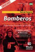 BOMBEROS: DIPUTACION PROVINCIAL DE SEVILLA: TEST DEL TEMARIO - 9788417287207 - VV.AA.