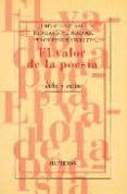 EL VALOR DE LA POESIA - 9788475177007 - PERCY BYSSHE SHELLEY