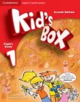 KID S BOX 1 FOR SPANISH SPEAKERS PUPIL S BOOK WITH MY HOME BOOKLET 2ND EDITION - 9788483238707 - VV.AA.