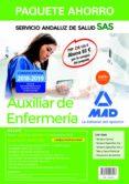 PAQUETE AHORRO AUXILIAR ENFERMERÍA DEL SERVICIO ANDALUZ DE SALUD (INCLUYE TEMARIO COMÚN, TEMARIO ESPECIFICO, VOLUMENES 1,2 Y 3, TEST, EXAMEN Y ACCESO A CAMPUS ORO) - 9788414216217 - VV.AA.