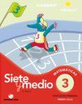 CALCULO SIETE Y MEDIO 3 (BAOBAB) - 9788430778317 - VV.AA.