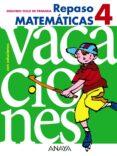 CUADERNO DE MATEMÁTICAS 4 - 9788466705417 - VV.AA.