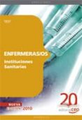 ENFERMERAS/OS INSTITUCIONES SANITARIAS. TEST - 9788468101217 - VV.AA.