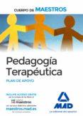 CUERPO DE MAESTROS PEDAGOGIA TERAPEUTICA. PLAN DE APOYO - 9788490931417 - VV.AA.