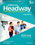 AMERICAN HEADWAY 5. MULTIPACK A 3RD EDITION (AMERICAN HEADWAY THIRD EDITION) - 9780194726627 - VV.AA.