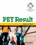 PET RESULT TEACH PACK - 9780194817127 - VV.AA.