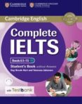 COMPLETE IELTS BANDS 6.5-7.5 STUDENT S BOOK WITHOUT ANSWERS WITH CD-ROM WITH TESTBANK - 9781316602027 - VV.AA.