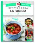 RECETAS PARA LA FAMILIA (LISTAS EN 30 MINUTOS) - 9783625006527 - VV.AA.