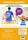 PAQUETE AHORRO CELADOR/A DE INSTITUCIONES SANITARIAS DE LA CONSEL LERIA DE SANITAT DE LA GENERALITAT VALENCIANA (INCLUYE TEMARIO COMUN Y TEST VOL. 1 Y 2; TEMARIO ESPECÍFICO; TEST ESPECÍFICO; SIMULACROS - 9788414212127 - VV.AA.