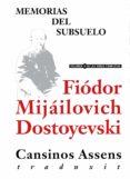 MEMORIAS DEL SUBSUELO (EBOOK) - 9788415957027 - FIODOR MIJAILOVICH DOSTOEVSKII