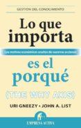 LO QUE IMPORTA ES EL PORQUE - 9788492921027 - URI GNEEZY