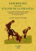DESCRIPCION DE LOS JUEGOS DE LA INFANCIA, LOS MAS PROPIOS A SUS F ACULTADES FISICAS Y MORALES, Y PARA SERVIR DE ABECEDARIO (FACSIMIL) - 9788497615327 - VICENTE NAHARRO
