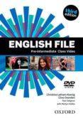 ENGLISH FILE: PRE-INTERMEDIATE: CLASS DVD (3RD ED.) - 9780194598637 - VV.AA.