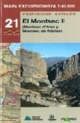 MAPA EXCURSIONISTA EL MONTSEC II - 9788483212837 - VV.AA.