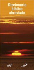 DICCIONARIO BIBLICO ABREVIADO - 9788428552547 - PAT ALEXANDER