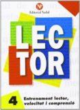 ENTRENAMENT LECTOR, VELOCITAT I COMPRENSIÓ Nº 4 LLETRA MANUSCRITA - 9788486545857 - VV.AA.
