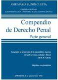 compendio (2018) de derecho penal parte general (24ª ed.)-jose maria luzon cuesta-alejandro luzon canovas-9788491488057