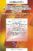 GUIA DE APLICACION DE NORMAS TECNICAS DEL RICT - 9788496300057 - PEDRO PASTOR LOZANO