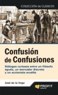 confusion de confusiones-jose de la vega-9788496998957