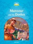 CLASSIC TALES 1. MANSOUR AND THE DONKEY - 2ND EDITION (+ MP3) - 9780194008167 - VV.AA.