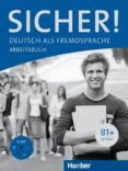 SICHER B1+: ARBEITSBUCH, M. AUDIO-CD - 9783190112067 - VV.AA.
