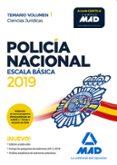 POLICIA NACIONAL ESCALA BASICA: TEMARIO (VOL. 1) CIENCIAS JURIDICAS - 9788414225967 - VV.AA.