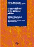 LA SOSTENIBILIDAD DE LAS PENSIONES PUBLICAS - 9788430964567 - JOSE LUIS MONEREO PEREZ