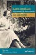 MARIA ZAMBRANO: UNA PENSADORA DE NUESTRO TIEMPO - 9788476587867 - JOSE LUIS ABELLAN