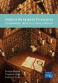 ANALISIS DE ESTADOS FINANCIEROS - 9788483225967 - ENRIQUE BONSON PONTE