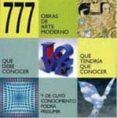 (PE) 777 OBRAS DE ARTE MODERNO - 9788881175567 - VV.AA.