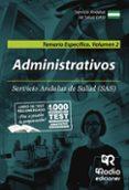 ADMINISTRATIVOS DEL SAS. TEMARIO ESPECÍFICO. VOLUMEN 2. - 9788417439477 - VV.AA.